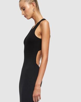 Lioness The Clare Dress - Bodycon Dresses (Black)
