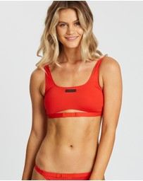 Calvin Klein - Core Neo Square Neck Bralette Top
