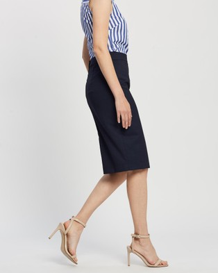 Farage Goldie Micro Skirt - Skirts (Navy)