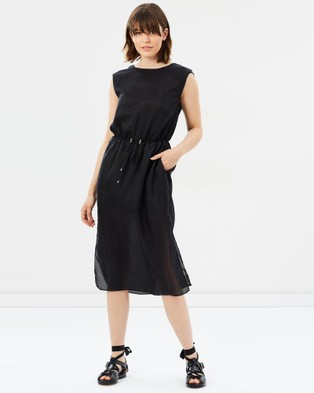 Third Form – Higher Ground Silk Maxi Dress Black