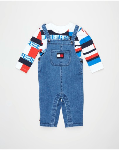 Tommy Hilfiger - Dungaree Set - Babies