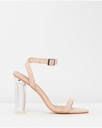 SPURR - ICONIC EXCLUSIVE - Cindy Clear Heels