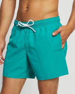 Lacoste Colour Block Swim Shorts - Swimwear (Niagara & Cicer)