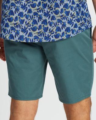 Rodd & Gunn Main Beach Shorts - Chino Shorts (Evergreen)