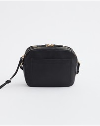 The Horse - Double Zip Cross Body Bag