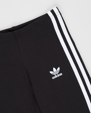 adidas Originals Cycling Shorts Teens Black & White