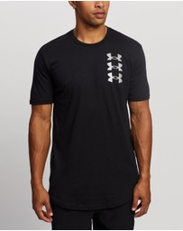 Under Armour - Triple Stack Logo Short Sleeve Tee
