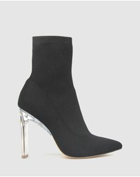 ZU - Vibe High Heel Sock Boots