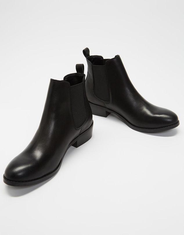 Women Vespa Leather Ankle Boots