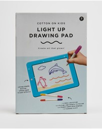 Cotton On Kids - Light Up Drawing Pad - Kids