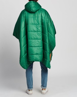 Poler Reversible Poncho - Sleeping Bags & Napsacks (Alfalfa Dune)