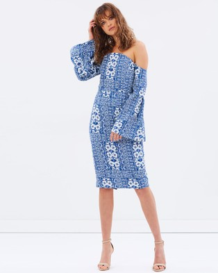 Elliatt – Manet Midi Dress Print