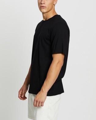Merlino Street Bamboo T Shirt - T-Shirts & Singlets (Black)