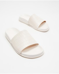 Atmos&Here - Zoe Leather Slides