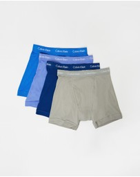 Calvin Klein - 4-Pack Cotton Classic Boxer Briefs