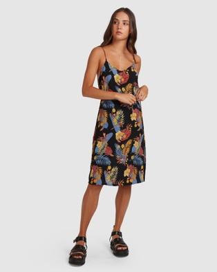 Element Amelie Tropical Dress - Dresses (BLACK)