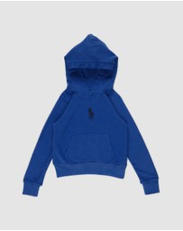 Polo Ralph Lauren - Knit Polo Hoodie - Teens