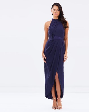 Alabaster The Label – Altitude Dress – Dresses (Navy)