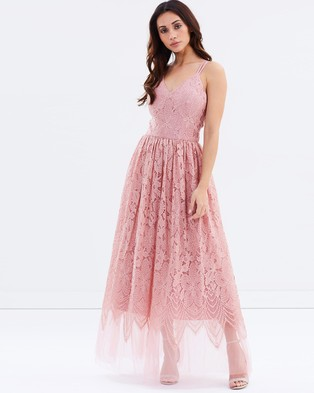 Chi Chi London – Phoebe Dress – Bridesmaid Dresses Pink