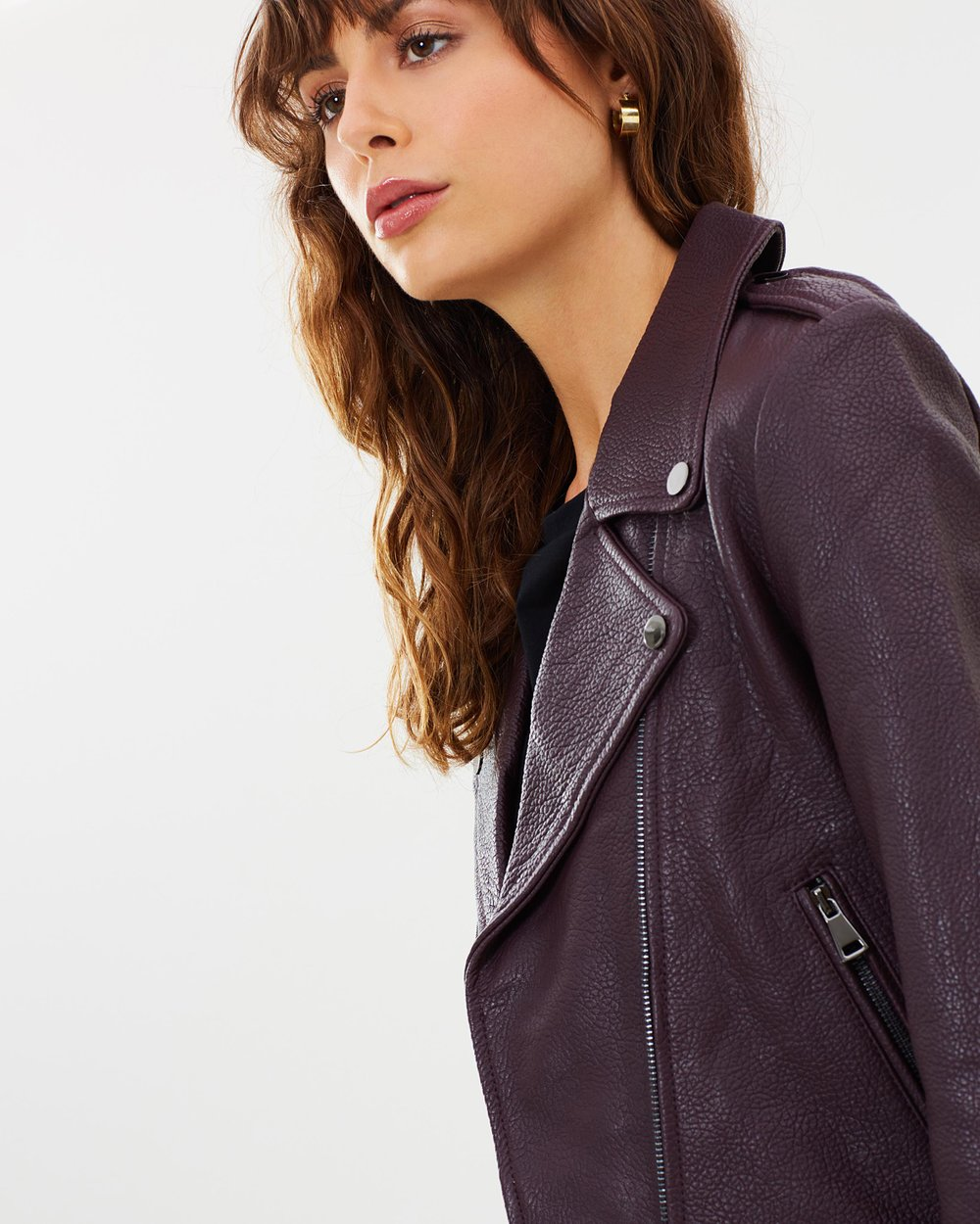 353a36bc22 Carrie Leather Jacket by Elka Collective Online   THE ICONIC   Australia
