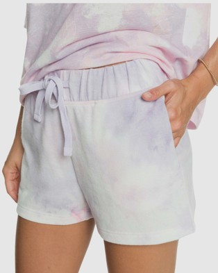Roxy Womens Magic Hour Tie Dye Short - Skirts (ORCHID PETAL NO FLOW)