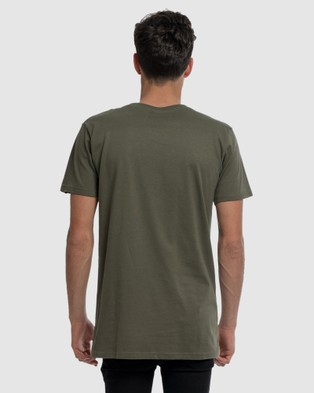 DVNT Originals Tee - Short Sleeve T-Shirts (Green)