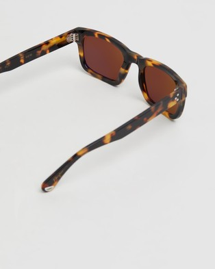 Pacifico Optical Tony - Sunglasses (Honey Tortoise with Polarised Brown Lens)