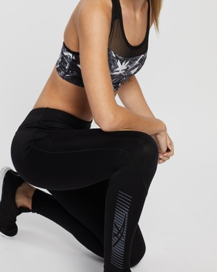ASICS Icon Tights - Full Tights (Performance Black & Carrier Grey)
