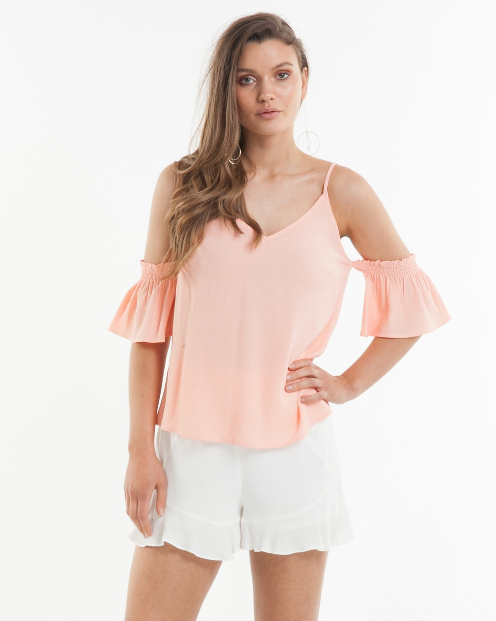 Amelius Enchanted Top Tops Peach Enchanted Top