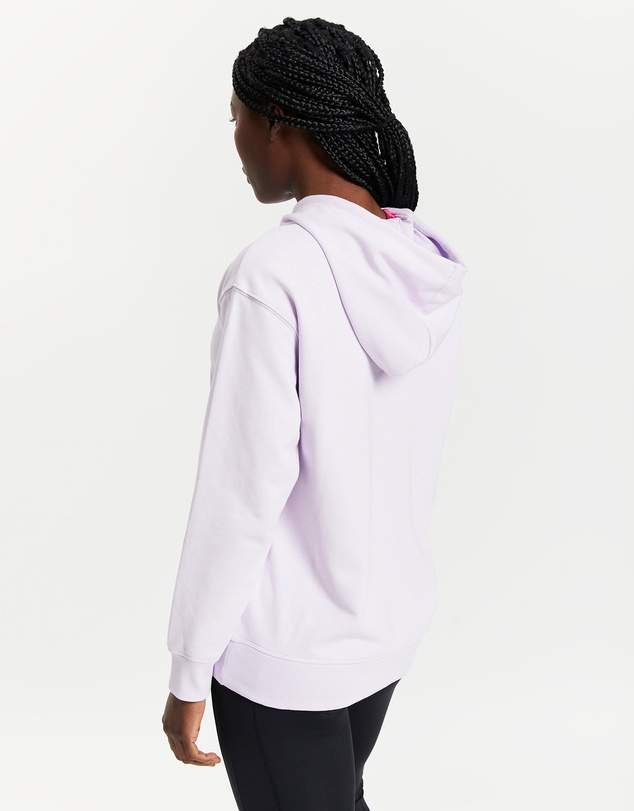 Women NB Essentials Stacked Logo Oversized Pullover Hoodie