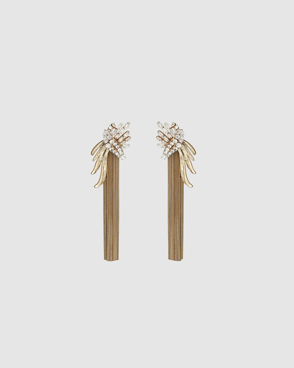 Kitte Zephyr Earrings Jewellery Gold