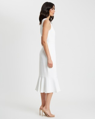 CHANCERY - Leah Midi Dress - Bridesmaid Dresses (White) Leah Midi Dress