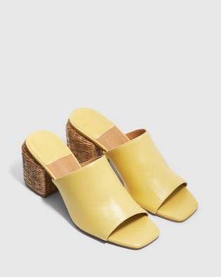 cherrichella Wicked Mules - Heels (Lemon)