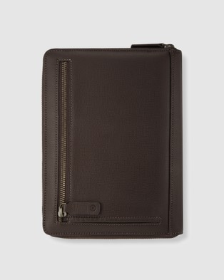 Kinnon Harley A5 Compendium - Stationery (Chocolate)