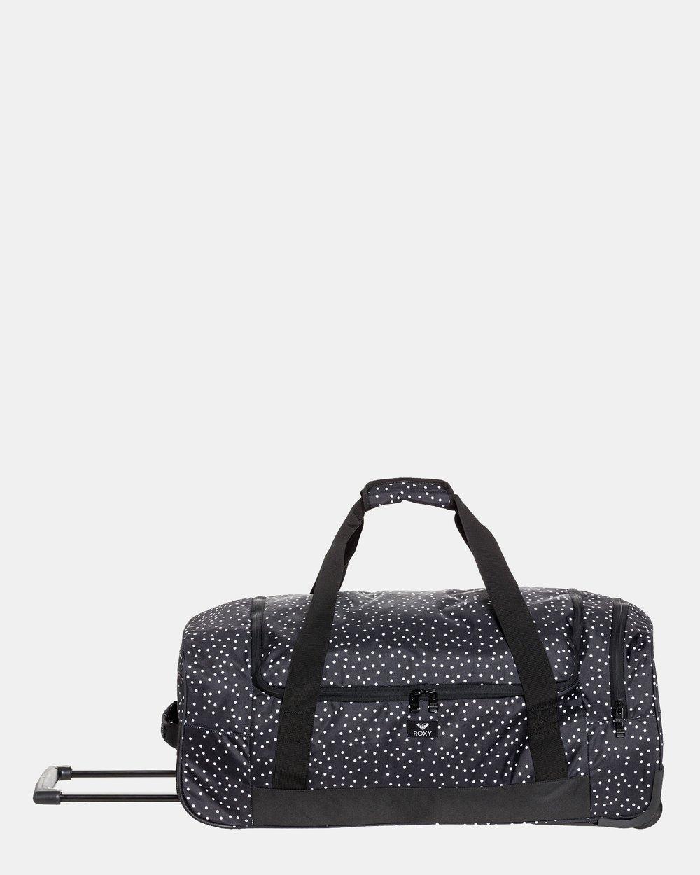 Distance Across Large Wheeled Duffle Travel Bag by Roxy Online  b85e4e315016d