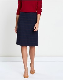 Sportscraft - Hunter Check Skirt