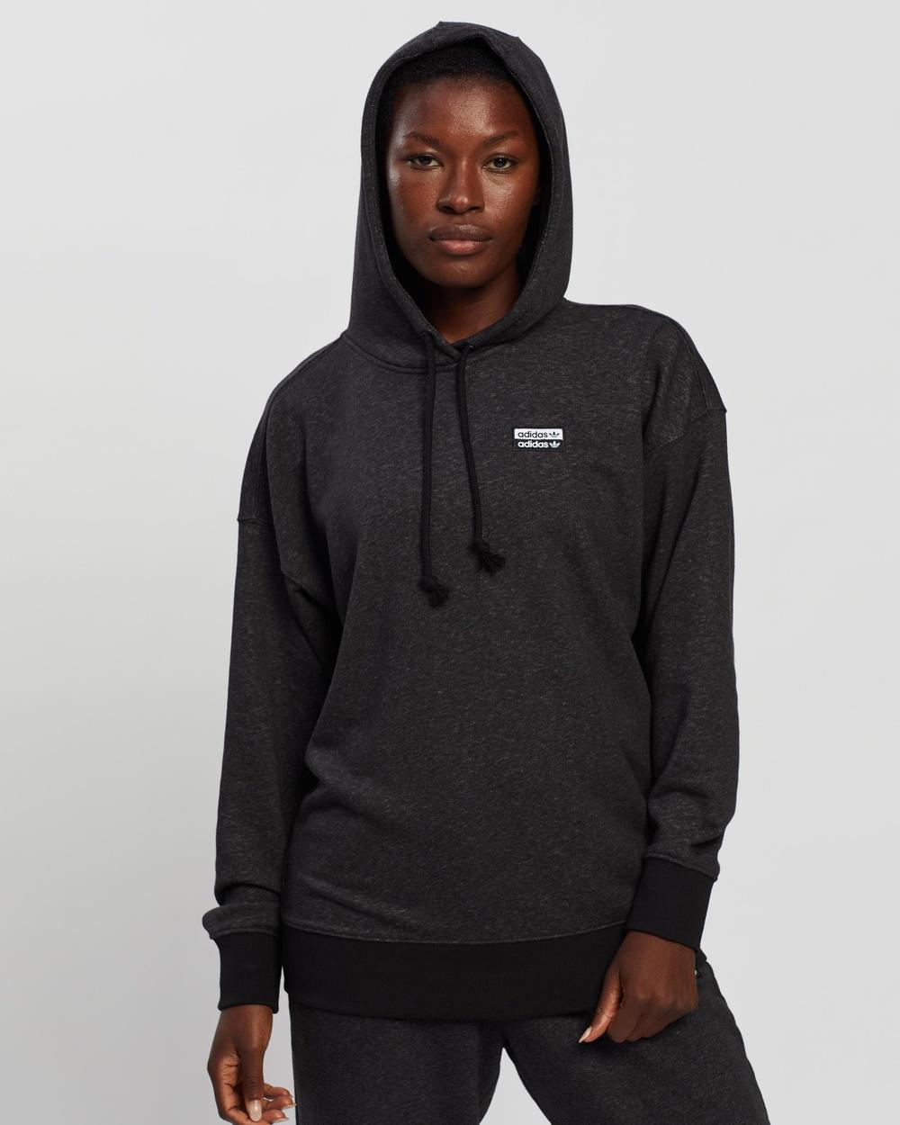 adidas Originals R.Y.V. Hoodie Hoodies Black Melange