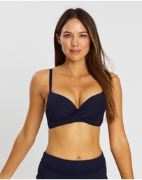 Sea Level Australia - Cross-Front Moulded Underwire Bra