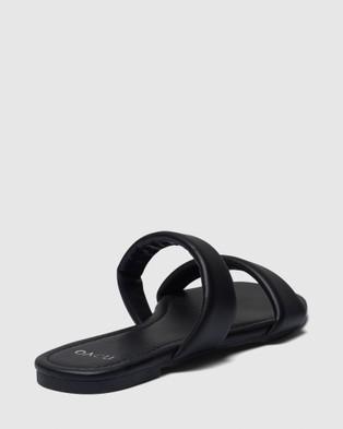 Novo Roses - Sandals (Black)