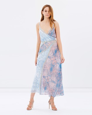 We Are Kindred – Isla Spliced Maxi Dress – Dresses (Field Floral)