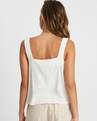 The Fated Liza Top - Tops (White)