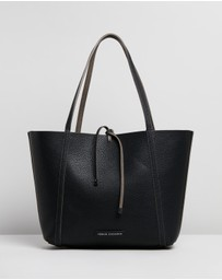 Armani Exchange - Pebble PU Reversible Tote Bag