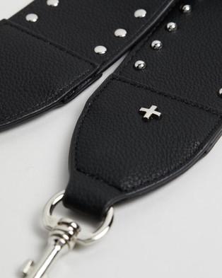 PETA AND JAIN Twain Bag Strap - Handbags (Black)