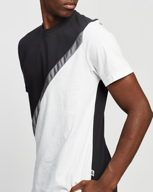 adidas Performance Tan Block Tee Clothing Black