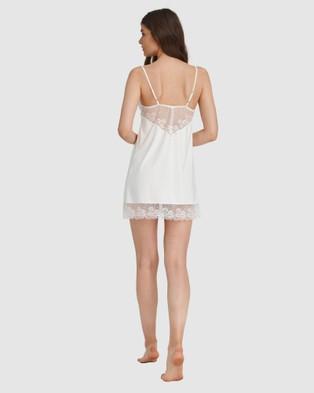 Oh!Zuza Lace Detail Chemise - Sleepwear (Ivory)