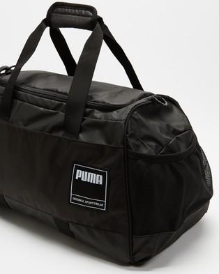 Puma Gym Duffle Bag   Medium - Duffle Bags (Puma Black)