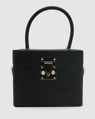 Morgan & Taylor Medina Top Handle Bag - Handbags (BLACK)