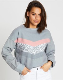 All About Eve - Warped Crew Sweater