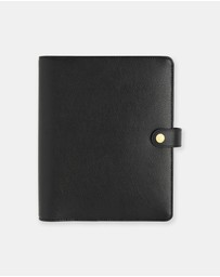kikki.K - Large Textured Leather Personal Planner
