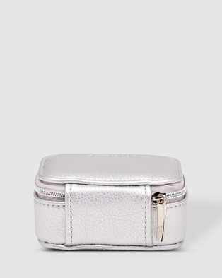 Louenhide Suzie Jewellery Box - Travel and Luggage (Silver)